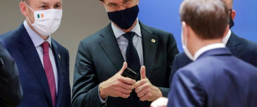 FOTO. Klaus Iohannis de la Bruxelles: Este o zi istorică pentru România. Christine Lagarde, președintele BCE: Putem lupta împotriva consecințelor economice ale COVID-19 doar lucrând împreună
