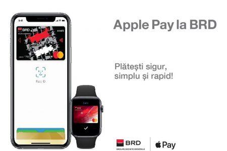 BRD a lansat Apple Pay, o metodă de plată simplă și sigură