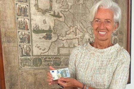 FOTO. BCE: Cum arată primele banconte de 5 și 10 euro semnate de Christine Lagarde