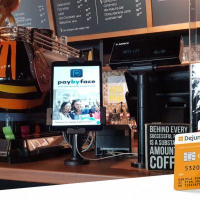 Plata prin intermediul unui simplu selfie. Up Romania și PayByFace oferă clienților cea mai inovatoare metodă de plată din Europa