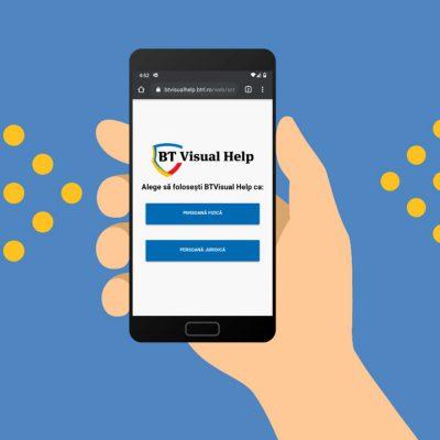 Aplicaţia BT Visual Help a crescut într-o lună cât într-un an, cu peste 80.000 de accesări în august