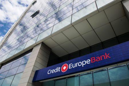 Credit Europe Bank a încheiat primul semestru din 2020 cu un profit net de 13 milioane lei