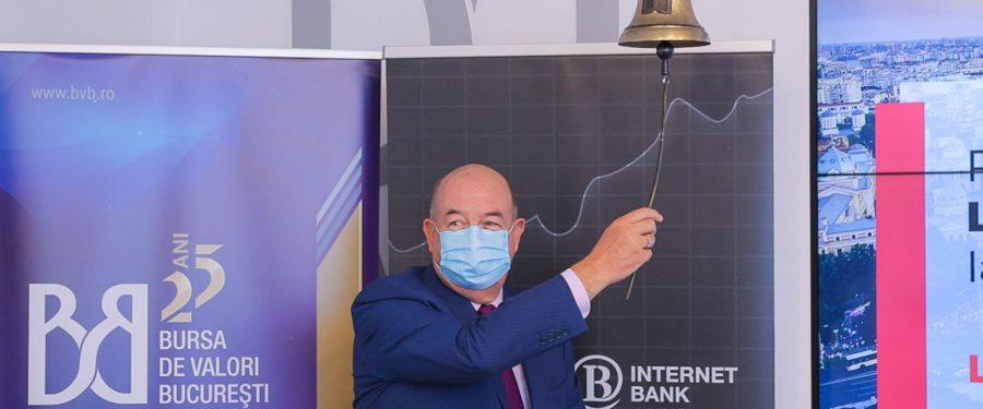 Libra Internet Bank face primul pas pe Bursa de Valori București și listează obligațiuni de 4,3 milioane euro. Radu Ghețea: Prezența pe piața de capital exprimă încrederea totală în propriile forțe și deschidere către investitori