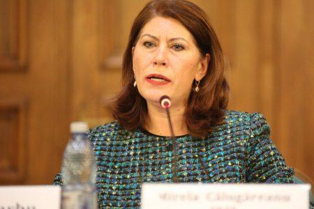 Mirela Călugăreanu a fost numită Președinte al Consiliului de Administrație al CEC Bank