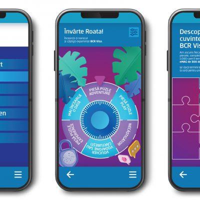 BCR și Visa lansează primul program de gamification din banking. Programul poate fi accesat în George și își propune să încurajeze adoptarea serviciilor digitale și utilizarea cardurilor bancare printr-un joc digital super-distractiv