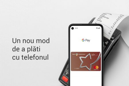 Clienţii Băncii Transilvania au încă o opţiune pentru cumpărături cu telefonul, Google Pay
