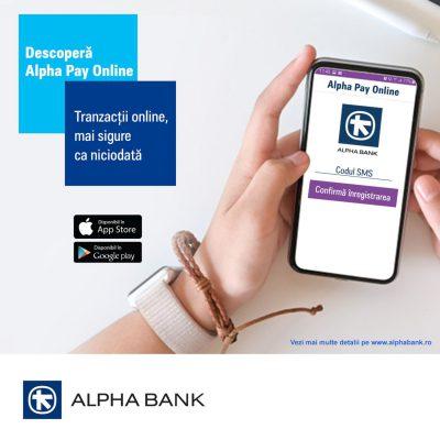 Alpha Bank Romania anunta primele tranzactii realizate prin Alpha PhonePOS