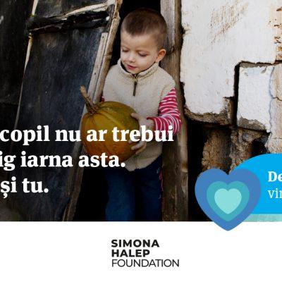 Banca Transilvania şi Fundaţia Simona Halep donează 50.000 de euro organizaţiei SOS Satele Copiilor România. #BT dublează fiecare donaţie făcută până în 21 decembrie