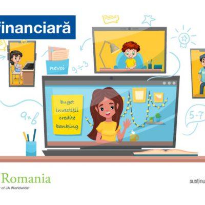 Junior Achievement și Raiffeisen Bank continuă cursurile de educație financiară: Peste 27.400 de elevi din 605 școli și 1.000 de profesori beneficiază în acest an de resurse pentru educație financiară adaptate școlii online
