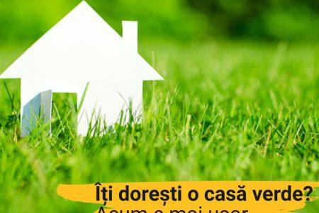 Cum poți avea rate mai mici cu până la 5% pentru un credit imobiliar? Banca Transilvania lansează Creditul Verde pentru locuinţe prietenoase cu mediul