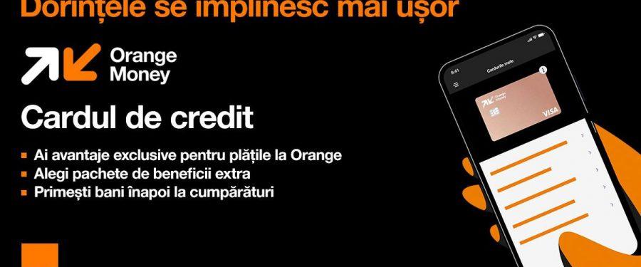 Orange Money lansează primul card de credit din România care le permite clienților să-și aleagă beneficiile