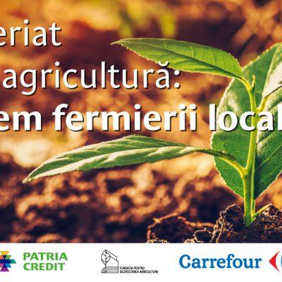 Veste bună pentru producătorii legumicoli. Patria Bank și Patria Credit susțin Fundația pentru Dezvoltarea Agriculturii, fondată de Carrefour, și semnează un protocol strategic pentru 5 ani, de 500.000 euro