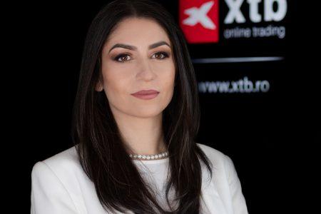 """Irina Cristescu, XTB România: """"Evoluția impetuoasă a criptomonedelor și fenomenul GameStop au atras un val nemaiîntâlnit de investitori noi care s-au grăbit să nu rateze momentele istorice ce au marcat piețele financiare în această perioadă"""". Numărul de clienți și a rulajelor s-au triplat în 2020"""