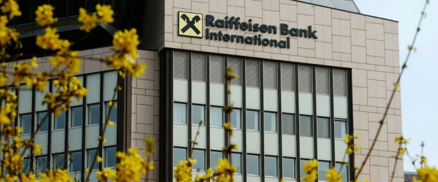 Raiffeisen Bank International a raportat un profit trimestrial peste aşteptări