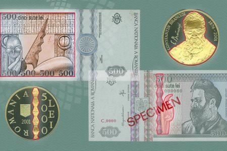145 de ani de la nașterea lui Constantin Brâncuși. Citește despre emisiunile monetare românești care îl omagiază pe marele artist