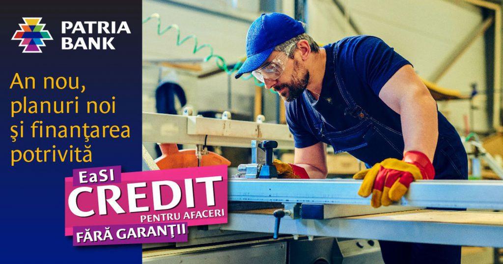 Programul IMM Invest continuă la Patria Bank: Firmele pot accesa credite de până la 240.000 de lei, fără garanții