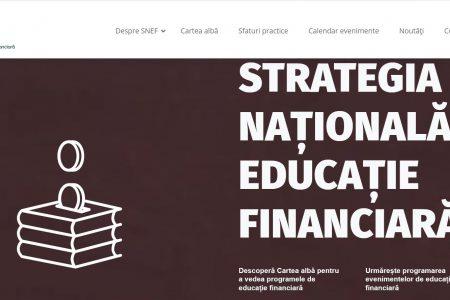 Un nou pas în etapa de elaborare a Strategiei Naționale de Educație Financiară: ARB, BNR, Ministerul Educației, ASF și Ministerul Finanțelor au lansat o platformă interactivă de educație financiară unde pot fi înscrise toate programele din domeniu