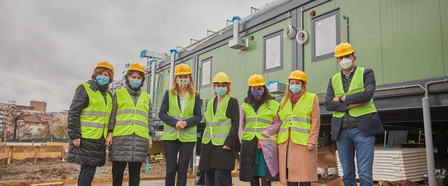 FOTO. BCR contribuie cu 100.0000 de euro la spitalul Modular ATI de la Piatra Neamț, construit de Dăruiește Viață