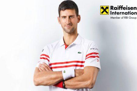 Novak Djokovic devine ambasador Raiffeisen Bank International. Johann Strobl: Datorită faptului că împărtășim valori foarte similare, credem că parteneriatul nostru este potrivirea perfectă