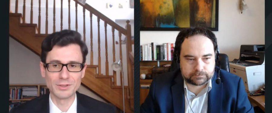 """Claudiu Cazacu și Adrian Codirlașu au discutat, în premieră, despre cele mai fierbinți subiecte din lumea financiară locală și internațională. Câteva concluzii desprinse din noua ediție a emisiunii """"Finance Talks"""""""