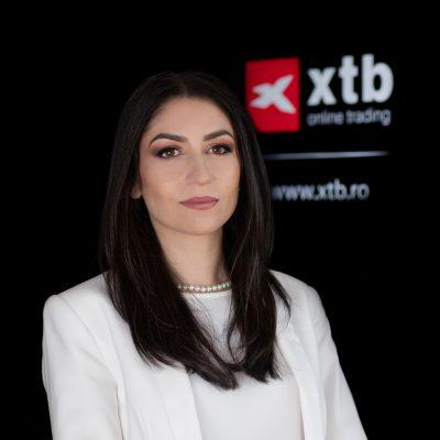 """Brokerul XTB a consemnat o creștere record a numărului de clienți noi, cu 73% față de Q4 2020. Irina Cristescu: """"Ne onorează aceste cifre deoarece, mai presus de statistică, exprimă încrederea investorilor și siguranța pe care ei o simt alături de noi"""""""