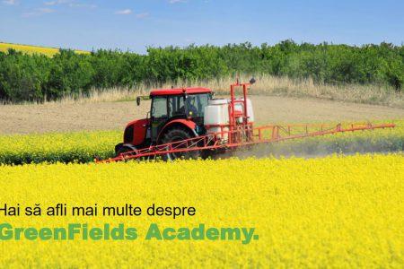 Încep cursurile Greenfields Academy, un program de formare oferit gratuit fermierilor români și dedicat agriculturii integrate durabile