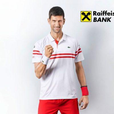 VIDEO. Cum arată prima reclamă în care joacă tenismenul Novak Djokovic, noul ambasador al brandului Raiffeisen Bank International