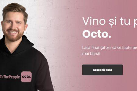 """Octobank a facut anuntul: """"Ne-am lansat în #Romania! 🎉"""""""