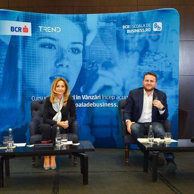 """BCR a lansat pentru antreprenori un curs pentru îmbunătățirea abilităților de vânzare. Dana Dima: """"Pentru mine, vânzarea rămâne o experiență, care are la bază curiozitatea și pasiunea. Consider că este foarte important cum îi faci pe clienți să se simtă, astfel încât să le câștigi încrederea"""""""