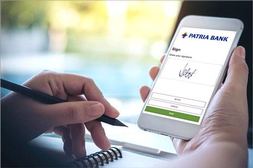 Patria Bank accelerează procesul de transformare digitală prin parteneriatul cu Namirial, care urmărește dezvoltarea noii platforme de produse 100% online a băncii, precum și implementarea semnării electronice a documentelor interne