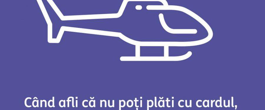 INEDIT. Aterizarea forțată a elicopterului Black Hawk în Piața Charles de Gaulle din București a dat idei publicitarilor din bănci. Meme-urile viralizate de ING Bank, First Bank și OTP Bank