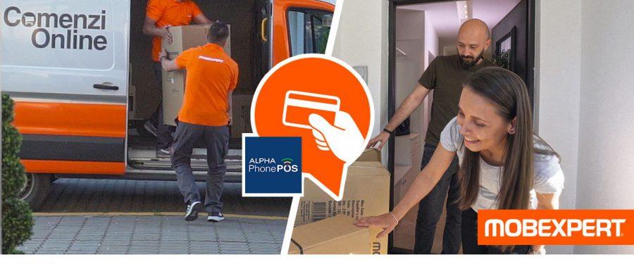 Mobexpert, brandul românesc nr.1 în mobilier și decorațiuni, folosește soluția Alpha PhonePOS, furnizată de Alpha Bank Romania