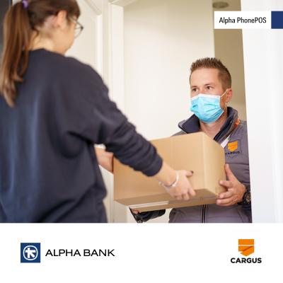 Cargus devine prima companie de curierat din România care folosește o soluție PIN on Glass – Alpha PhonePOS, furnizată de Alpha Bank Romania