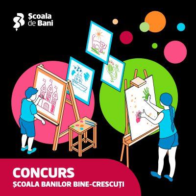 Concurs național: BCR caută școlile cu cei mai talentați copii la desene despre educație financiară și de mediu. Viitorul este despre sustenabilitate și alegeri smart, eco-financiare